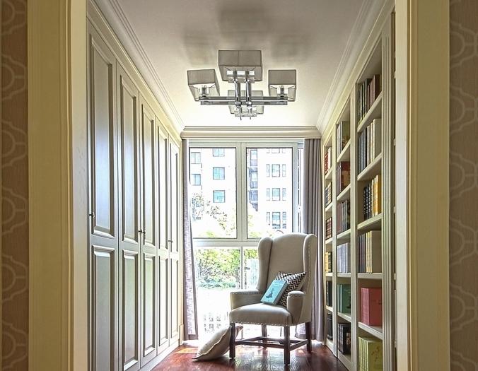 简约法式-139平米四居室整装-装修样板间