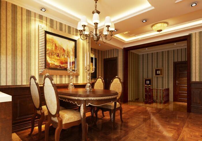 简欧风格-150平米五居室-装修样板间