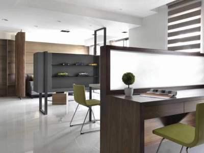 现代简约-75平米三居室装修样板间