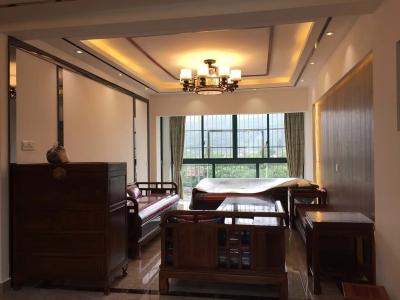 新中式风格-175平米四居室装修样板间