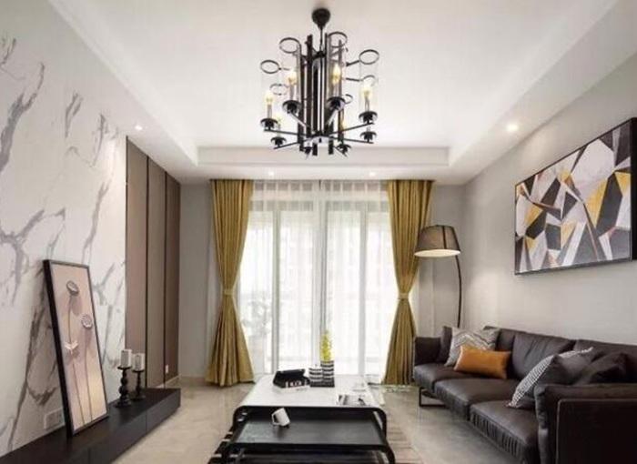 现代简约-136平米二居室-装修设计