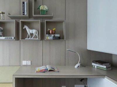 现代简约-123平米三居室整装装修样板间