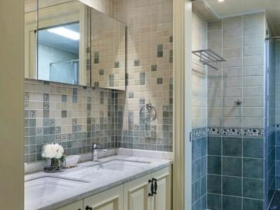 欧美风情-92.45平米二居室整装装修样板间