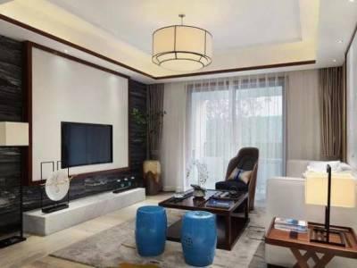 中式风格-115平米三居室装修样板间