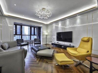 现代简约-230平米四居室装修样板间