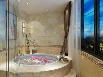 中式风格-238平米五居室整装装修样板间