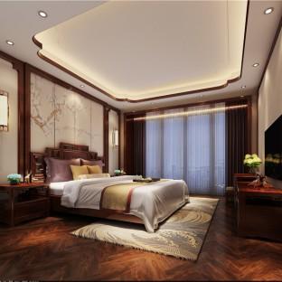简欧风格五居室卧室装修效果图