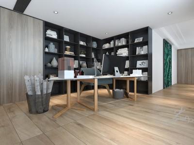 现代简约-230平米五居室装修样板间