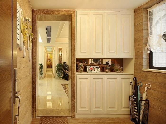 简欧风格-130平米三居室-装修样板间