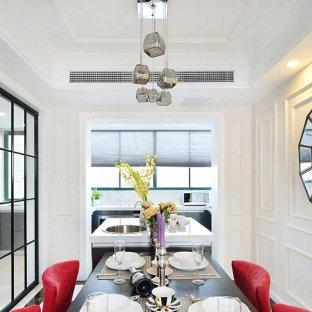 混搭风格三居室餐厅装修效果图