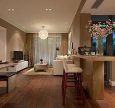 江南万达-现代风格-三居室