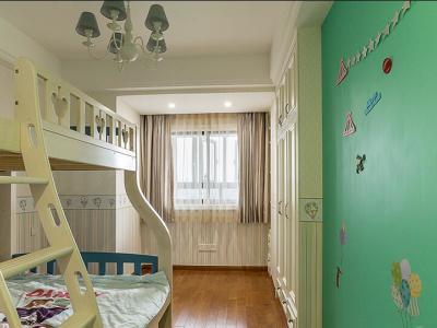 欧美风情-140平米三居室装修样板间