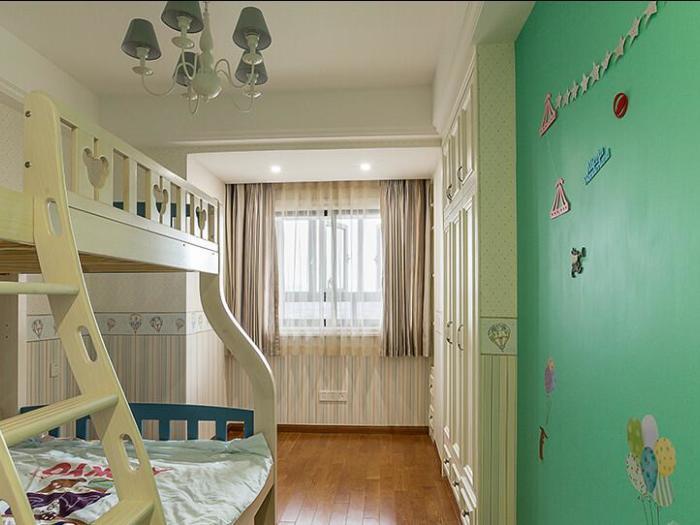 欧美风情-140平米三居室-装修样板间