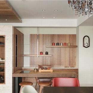中式风格五居室餐厅装修效果图