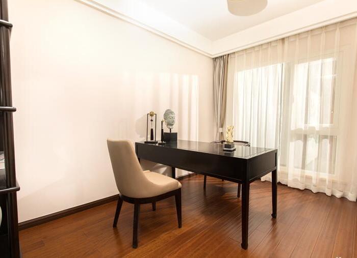 新中式风格-143平米三居室-装修样板间