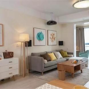 北欧风三居室客厅装修效果图