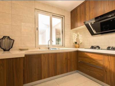 新中式风格-143平米三居室装修样板间