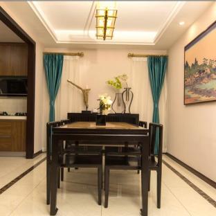 新中式风格三居室餐厅装修效果图