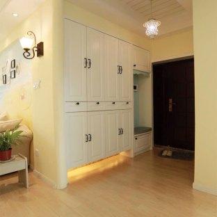 地中海风格二居室玄关装修效果图