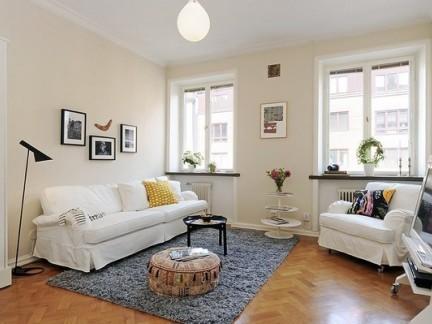 42平一居室精致宜家风 温馨但不显杂乱.