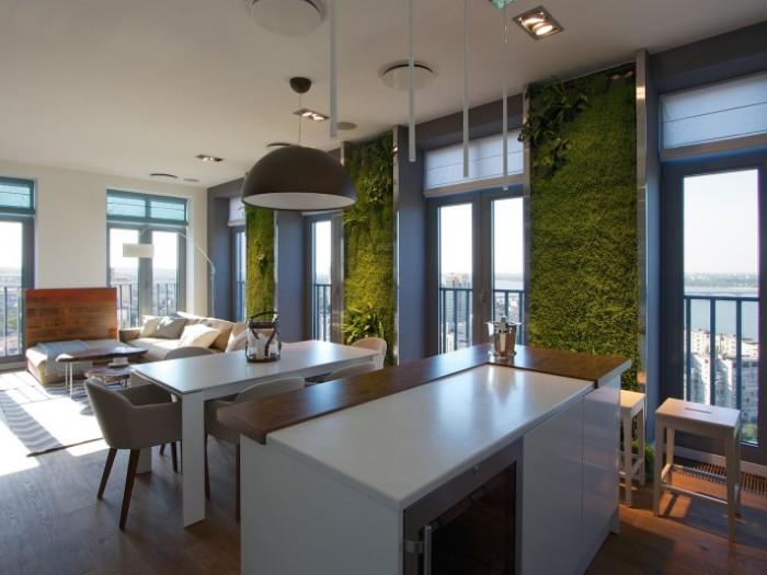 现代简约-132平米三居室-装修样板间