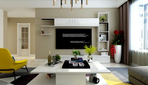 漫香堤120平米现代简约风格设计
