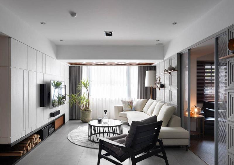 132平三居室北欧风,专享静谧时光