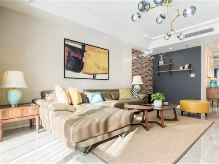 简欧风格-149.05平米三居室-装修设计