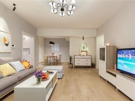 95平日式风格三居室 感受悠然生活