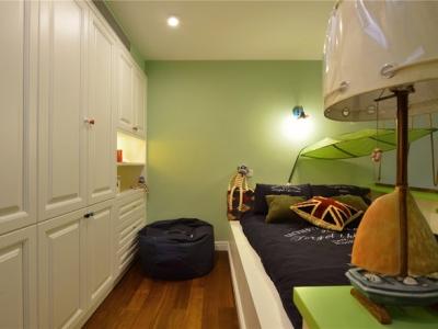 美式风格-178平米四居室装修样板间