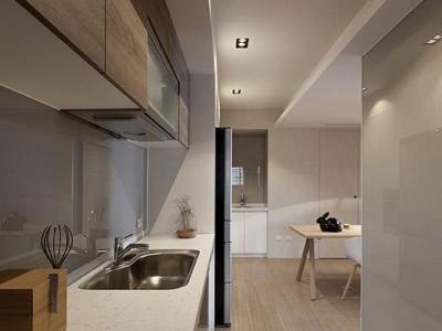 现代简约-126平米三居室局部装修装修样板间