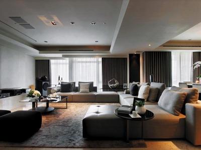 台式风格-140平米四居室装修样板间