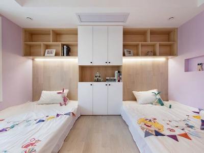 现代简约-115平米三居室装修样板间