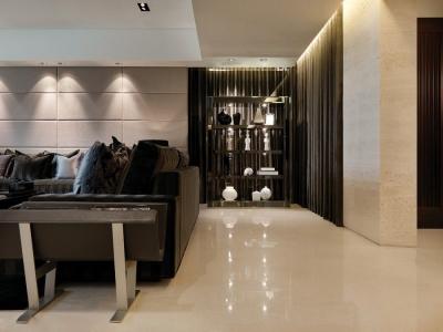 现代简约-150平米二居室装修样板间