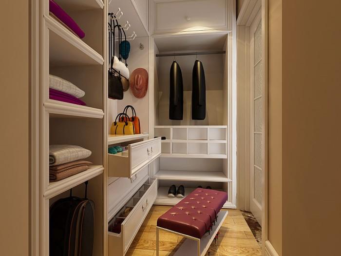 现代简约-151平米三居室-装修样板间