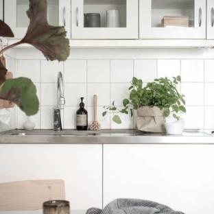 北欧风格一居室厨房装修效果图