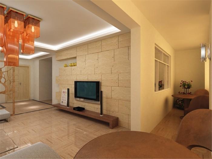 现代简约-205平米二居室-装修样板间