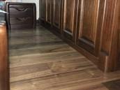多喜爱 世外桃源 美国黑胡桃三层实木复合地板 适用地暖