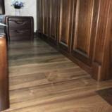 多喜爱 世外桃源 美国黑胡桃三层实木复合地板 适用地暖图片