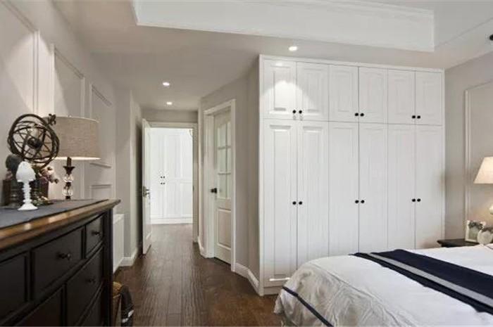 现代美式-139.85平米三居室-装修设计