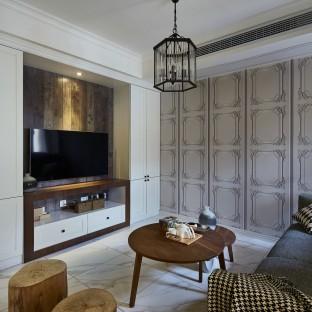 105平混搭风三居室 感受无处不在的优雅知性美!