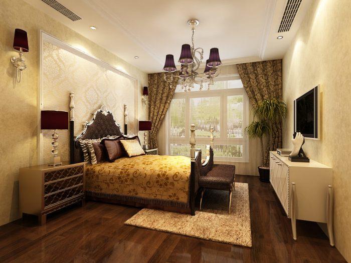 法式风格-266平米四居室-装修样板间