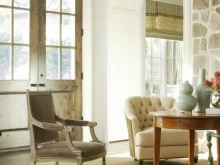 米色欧式风格客厅华美飘窗装修图片