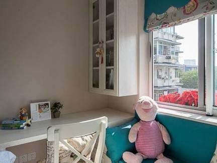 灰色现代风格儿童房雅致榻榻米装修效果图
