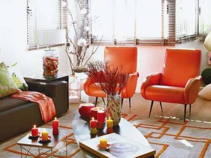 白色现代风格客厅时尚飘窗装修设计图