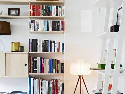 2018现代书房书柜图片-房天下装修效果图图片