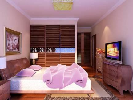 优雅彩色现代风格卧室榻榻米装修美图