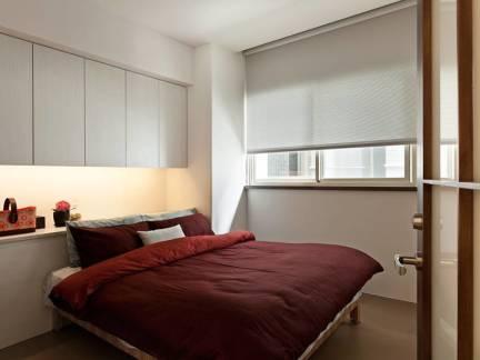 白色雅致现代风格卧室榻榻米装修效果图