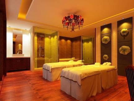 现代风格卧室白色小床装修设计图