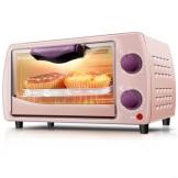 科顺(Kesun) 电烤箱家用多功能9L 迷你小烤箱 多功能烘焙蛋糕电烤炉TO-101 单机款粉色